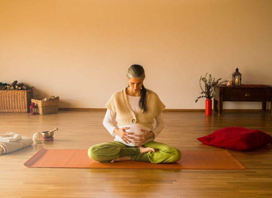 Yoga en el embarazo, Ninyacolorita